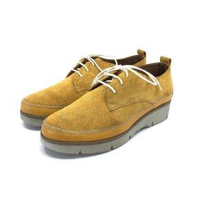 Pantofi casual din piele naturala Leofex- 198 Galben