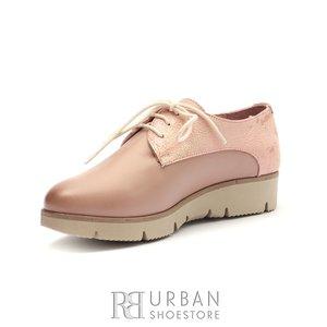 Pantofi casual din piele naturala Leofex- 200 Taupe Box