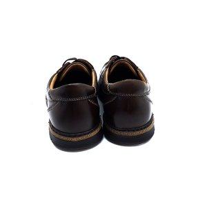 Pantofi casual din piele naturala Leofex - 513 Maro Box