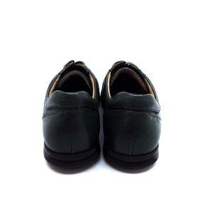 Pantofi casual din piele naturala Leofex - 534 Verde Box