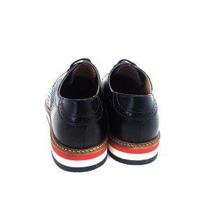 Pantofi casual din piele naturala Leofex - Mostra Blue Box Presat