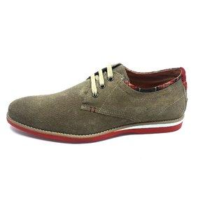 Pantofi Casual din Velur - 875 Taupe Velur