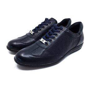 Pantofi casual/sport barbati din piele naturala, Leofex - 518 Blue box