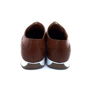 Pantofi casual/sport din piele naturala Leofex - Mostra Kevin Cognac