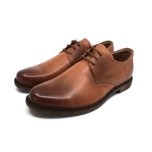 Pantofi copii din piele naturala, Leofex - 578 Cognac box
