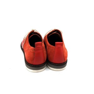 Pantofi dama casual din piele naturala - 230 Corai Box cu Velur