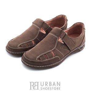 Pantofi de vara din piele nabuc - 140 kum nabuc
