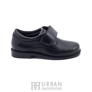 Pantofi din piele naturala box, pentru copii – 103 negru