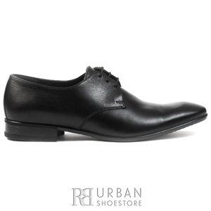 Pantofi eleganti barbati din piele naturala,Leofex - 112-2 negru box