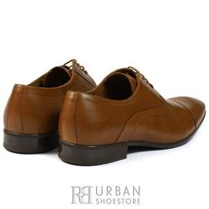 Pantofi eleganti  barbati din piele naturala  Leofex - 113 cioco