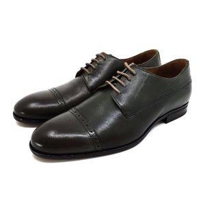 Pantofi eleganti barbati din piele naturala Leofex- 510-1 Verde Box