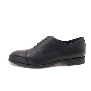 Pantofi eleganti barbati din piele naturala,Leofex-579 Negru Box
