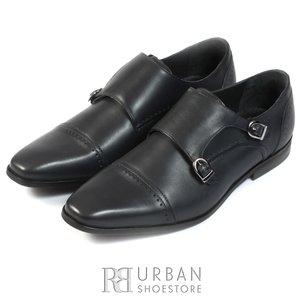 Pantofi eleganti barbati din piele naturala,Leofex - 778 blue box