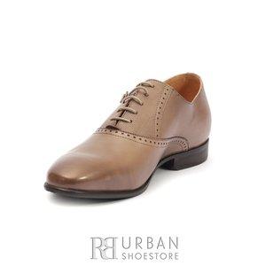 Pantofi eleganti barbati din piele naturala,Leofex - 824  Taupe Box