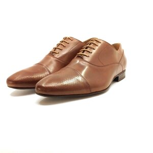 Pantofi eleganti barbati din piele naturala, Leofex - 834 Cognac deschis box