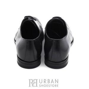 Pantofi eleganti barbati din piele naturala Leofex- 897 negru
