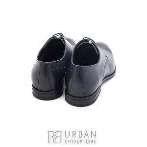 Pantofi eleganti barbati din piele naturala,Leofex - 898 blue box