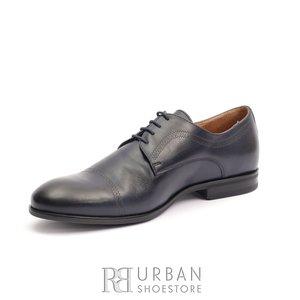 Pantofi eleganti  barbati din piele naturala Leofex - 932 Blue Box
