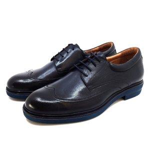 Pantofi eleganti barbati din piele naturala Leofex -997 Blue Box