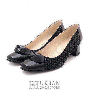 Pantofi eleganti dama din piele naturala  - 559 negru