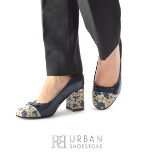 Pantofi eleganti dama din piele naturala - 791-2 Blue Box