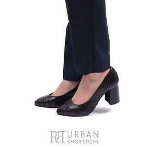 Pantofi eleganti din piele naturala - 0490-2 Negru Box