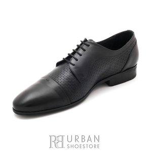 Pantofi eleganti din piele naturala - 820 negru