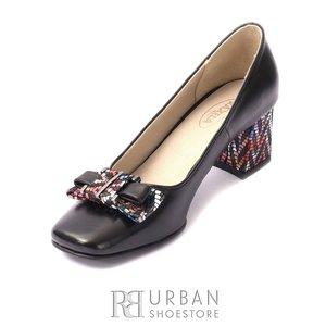 Pantofi eleganti din piele naturala - 89 Negru Box
