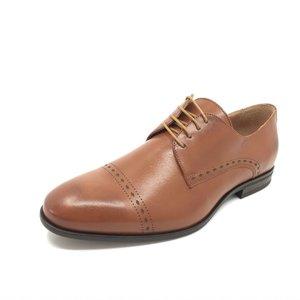 Pantofi eleganti din piele naturala 931 Cognac Box