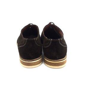 Pantofi Oxford din velur - Mostra 688-1 Maro Velur