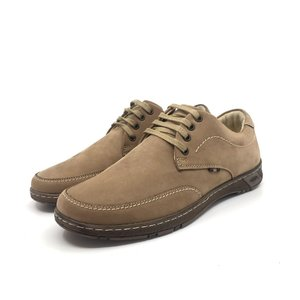 Pantofi sport-casual din piele naturală - 134 Maro Nabuc