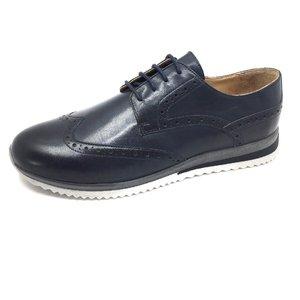 Pantofi sport-casual din piele naturala Leofex - Mostra Dorset Blue Box
