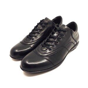Pantofi sport-casual din piele naturala - Mostra Sam Negru Box
