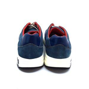 Pantofi sport din piele intoarsa Leofex - 883-1 Albastru Inchis