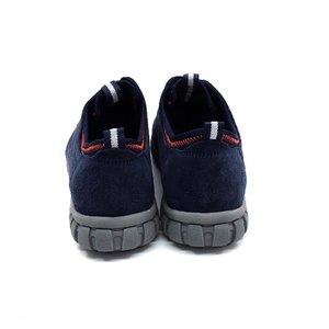Pantofi sport din piele intoarsa Leofex - 942 Blue Velur