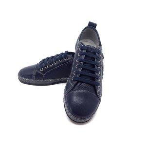 Pantofi sport din piele naturala Leofex- 047 Blue
