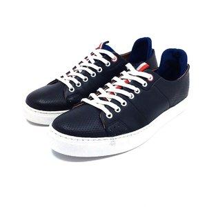 Pantofi sport din piele naturala Leofex - 943 Blue Box
