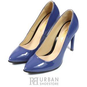 Pantofi stiletto lac - 733 mov