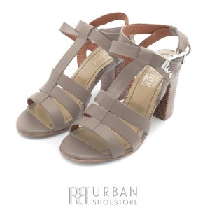 Sandale casual din piele naturala - 035 taupe
