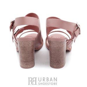 Sandale casual din piele naturala - 036 bej-flori