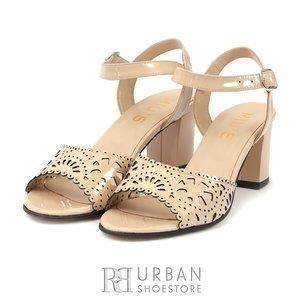 Sandale dama din piele- 159-3LP Nude