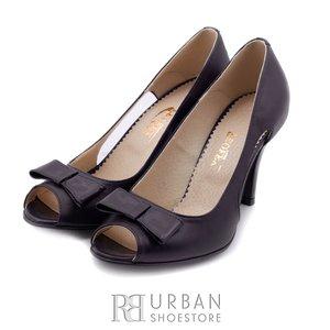 Pantofi eleganti din piele naturala  - 739 blue