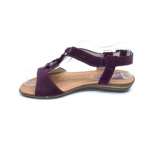 Sandale dama din piele naturala Leofex- Mostra Adina MovVelur