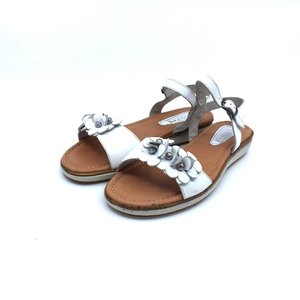 Sandale dama din piele naturala Leofex- Mostra Flori