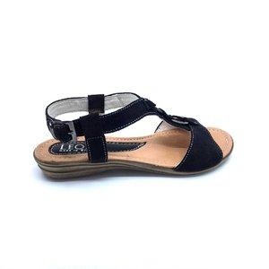 Sandale dama din piele naturala Leofex- Mostra Mirela Velur
