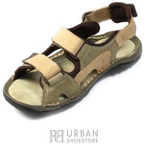 Sandale din nabuc - 633 bej