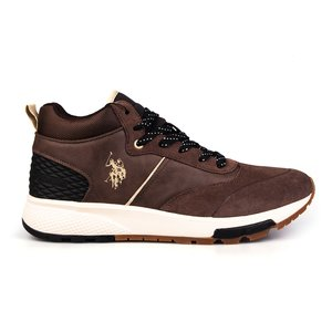 Sneakers barbati U.S. POLO ASSN.-504 Maro velur