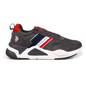 Sneakers barbati U.S. POLO ASSN.-505 Gri Velur