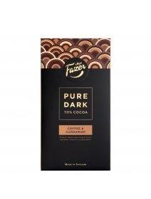 Ciocolata Fazer Pure Dark Coffee& Cardamom