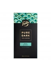Ciocolata Fazer Pure Dark Twist Of Mint